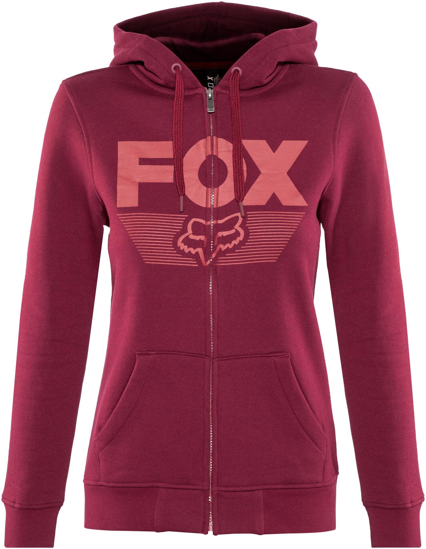 Ascot Veste Polaire En Fox FemmeCharcoalgraphitered Zippée 13TFJlKc